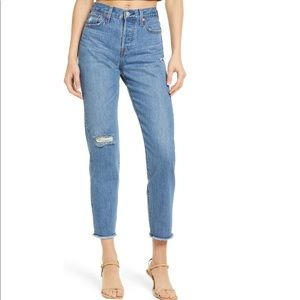 Levi's Wedgie High Rise Jean